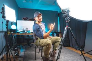 Youtube Studio Lighting 1