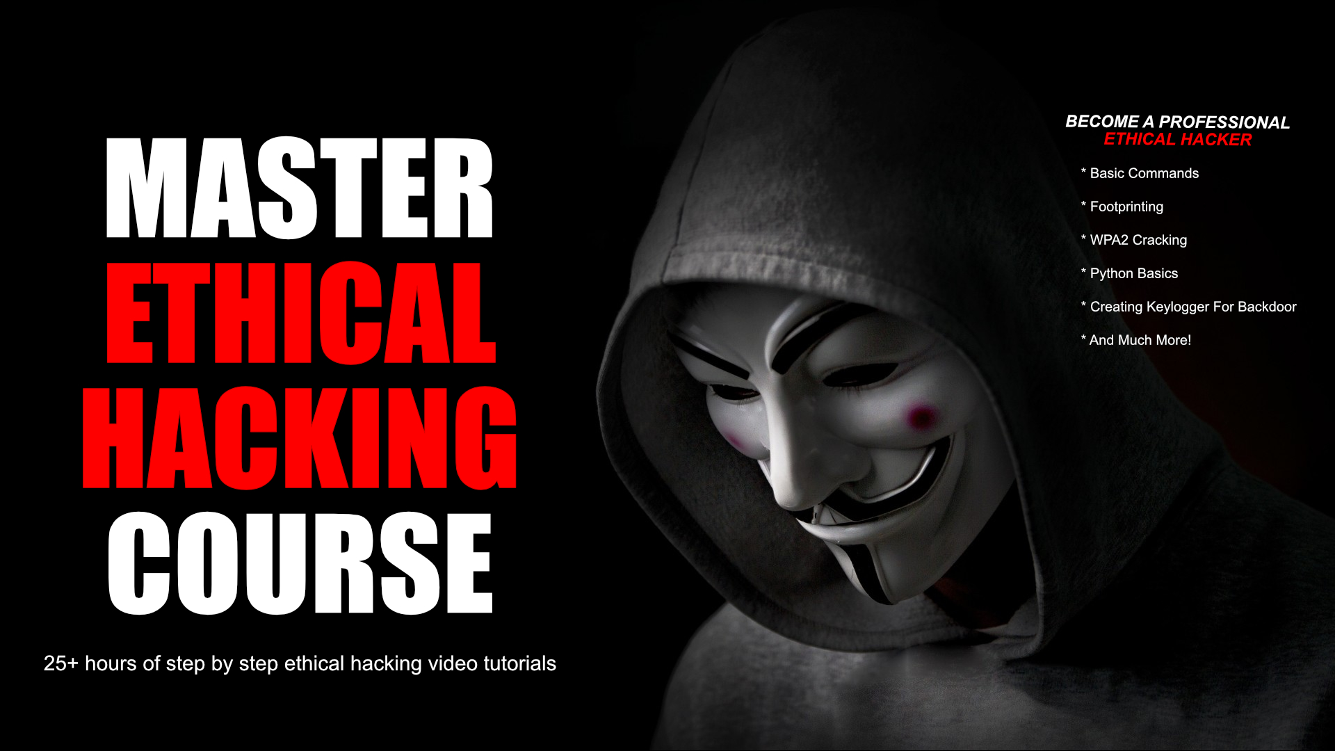 Master Ethical Hacking Book Ad