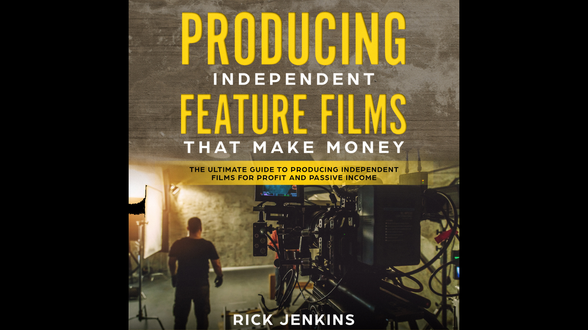 Producing Indie Films Website Audiobook Banner